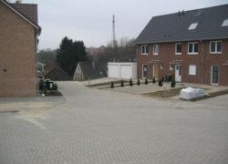 Erschließungsstraße erster Bauabschnitt mit Wendehammer und Anliegerstraße