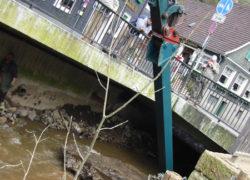 Geländeplanum nach Kanalverlegung