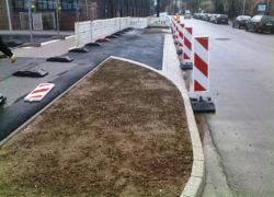 Ausbauzustand neue Straßenanbindung
